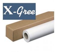Фотобумага рулонная X-GREE MS140 24*30 Одностороння Матовая (610мм*30м*50мм) 140 гр