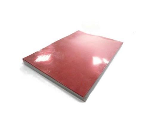 Обложка  ПВХ глянец\мат iBind А4/100/0,2мм  красный