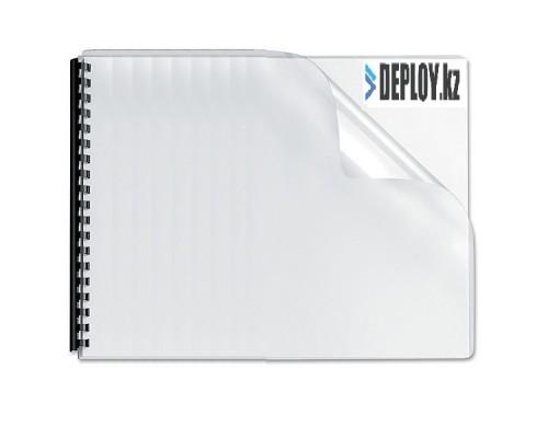 Обложка  ПВХ прозрачная глянец iBind А3/100/150mk  прозрачная