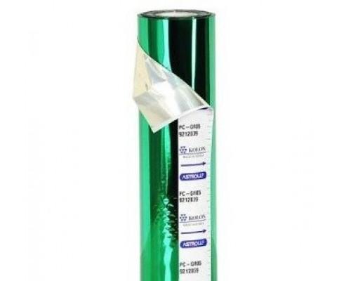 Фольга для применения в ламинаторах, (Зеленая) PC-GR05, ширина рулона 210 мм / длина 120 м