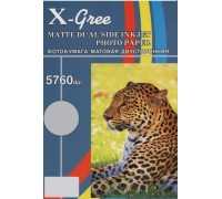Фотобумага X-GREE MD220-A4-50 Матовая Двухсторонняя  А4/50/220гр (20)