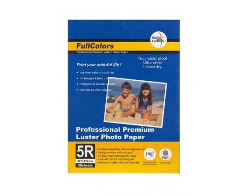 Фотобумага FullColors  CGC200-5R-50  Высокоглянцевая  13*18/50/200гр (44 )