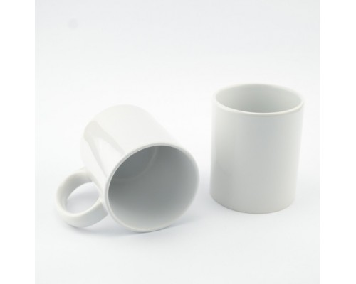 Кружка MT-B001А для сублимации 8,2х9,5см., 11oz, Белая  (36) без коробки