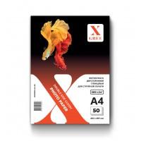 5H300DG-А4-50 Фотобумага для струйной печати X-GREE Глянцевая Двусторонняя A4*210x297мм/50л/300г NEW