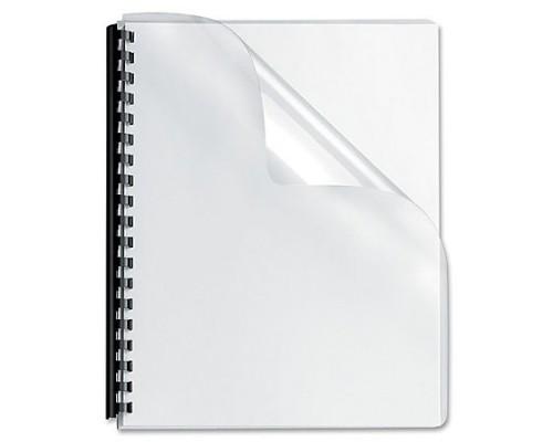 Обложка  ПВХ прозрачная глянец iBind А4/100/300mk  прозрачная